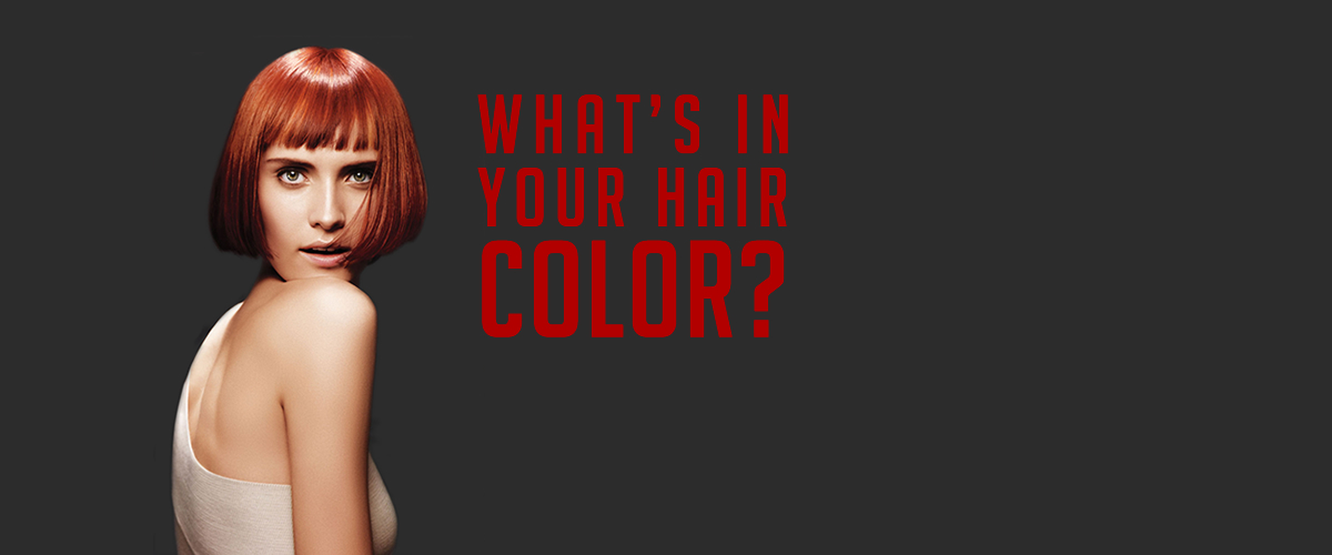 What's in your hair color?